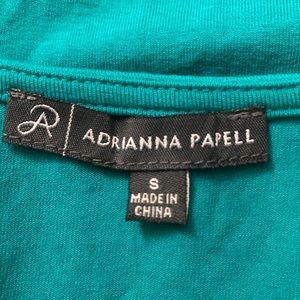 Adrianna Papell Tops - Adrianna Papell | Solid Sleeveless Shark Bite
